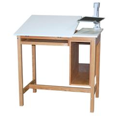SMI Oak 30 x 42 Computer Table