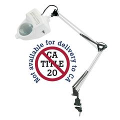 1.75x Swing-Arm Magnifier Lamp White