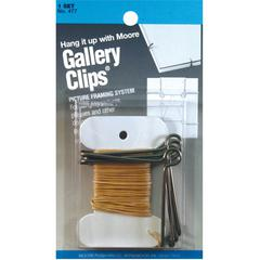 Moore Gallery Clips Framing System
