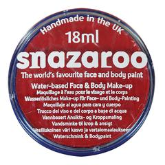 Snazaroo FACE PAINT BRIGHT RED 18ml