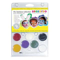Face Painting Clam Shell Kit Rainbow