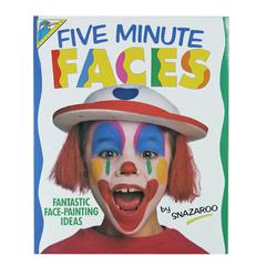Five Minute Faces Book