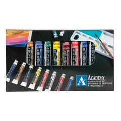 Grumbacher Academy Watercolor Paint 10-Color Set
