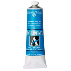 Grumbacher Academy Oil Paint 37ml Cerulean Blue Hue