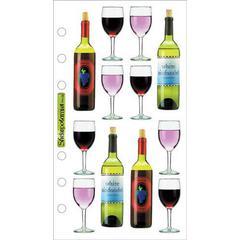 Jolee's Boutique Photo Stickers Wine
