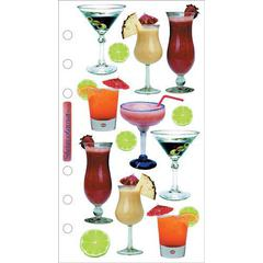 Jolee's Boutique Photo Stickers Cocktails