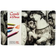 Conté Pastel Pencil 24-Color Set