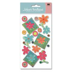 Jolee's Boutique Felt Sticker Pansy Patches