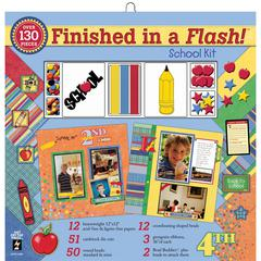 Finished In A Flash! 12 x 12 Kit School