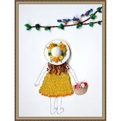 Lake City Quilling Kit Springtime Stroll