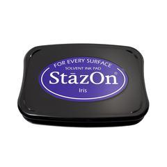 StazOn Solvent Ink Pad Iris