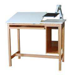 SMI Oak 30 x 48 Computer Table