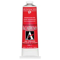 Grumbacher Academy Oil Paint 150ml Grumbacher Red
