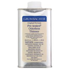Grumbacher Pre-Tested Odorless Paint Thinner 8oz