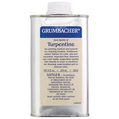 Grumbacher Turpentine 8oz