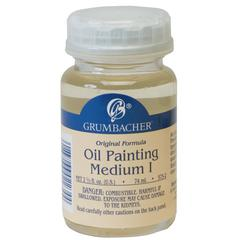 Matte Finish Oil Painting Medium I