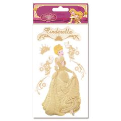 3-D Stickers Cinderella