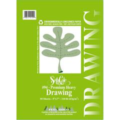 "9"" x 12"" Premium Heavy Drawing Paper Pad"