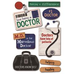 Karen Foster Design Cardstock Sticker Doctor