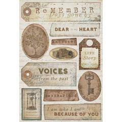 Karen Foster Design Cardstock Sticker Ancestry