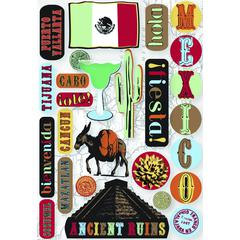 Cardstock Sticker Mexico