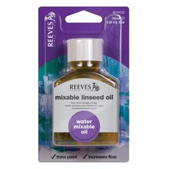 Reeves Water Mixable Linseed Oil 75ml