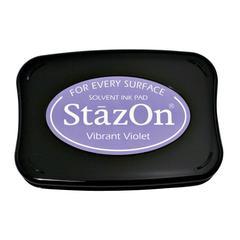 StazOn Solvent Ink Pad Vibrant Violet