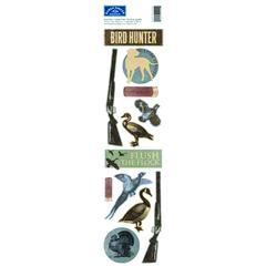 Karen Foster Design Clearly Stickers Bird Hunting