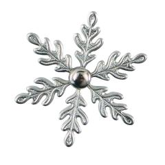 Nunn Designs Decorative Metal Snowflake Brads