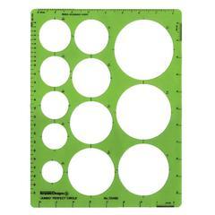 Jumbo Circle Guide Template