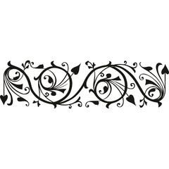 Clearsnap Design Adhesive Ornate Border