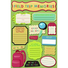Cardstock Sticker Field Trip