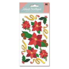 Stickers Poinsettias
