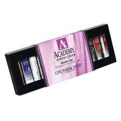 Grumbacher Academy Acrylic Paint 12-Color Set