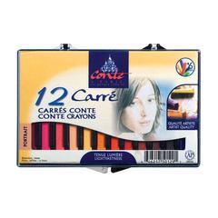 Conté Crayon 12-Color Portrait Set
