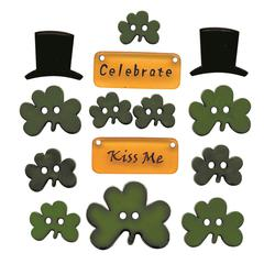 Themed Button Pack St Pats Day