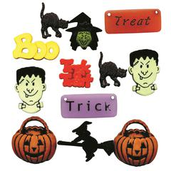 Themed Button Pack Scary Fun