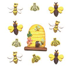 Buttons Galore & More Themed Button Pack Busy Bees