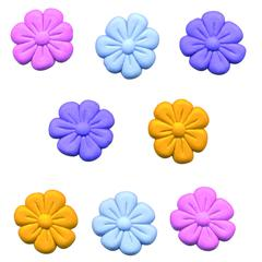 Themed Button Pack Magic Flower