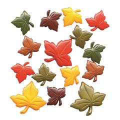 Buttons Galore & More Themed Button Pack Autumn Leaf