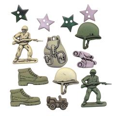 Themed Button Pack Infantry