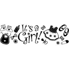 Design Adhesive Its A Girl