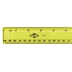 "12"" x 1 1/4"" Plastic Ruler"