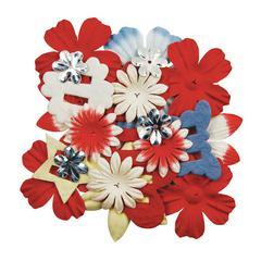 Blue Hills Studio ColorStories Handmade Paper Potpourri Red