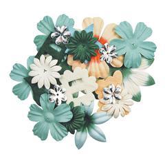 Handmade Paper Potpourri Green