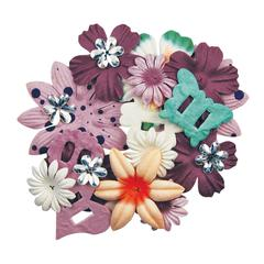 Blue Hills Studio ColorStories Handmade Paper Potpourri Purple