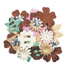 Blue Hills Studio ColorStories Handmade Paper Potpourri Brown