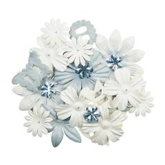 Blue Hills Studio ColorStories Handmade Paper Potpourri White
