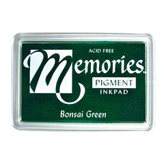 Pigment Ink Pad Bonsai Green