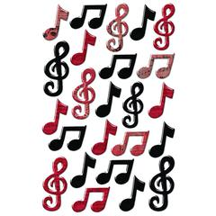 Creative Imaginations Epoxy Sticker Musical Notes
